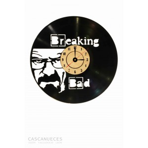 RELOJ VINILO BREAKING BAD