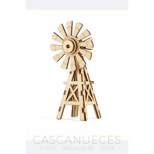 PUZLE 3D MOLINO DE MADERA