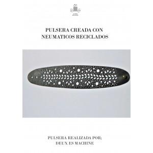 PULSERA CAUCHO RECICLADO DOTS
