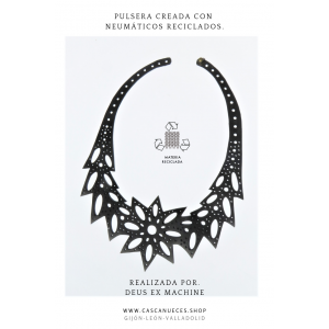 COLLAR CAUCHO RECICLADO STAR